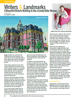 Landmarks Magazine Courthouse Girls Article Preview